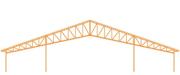 Structure d'acier Le Ciseau modèle