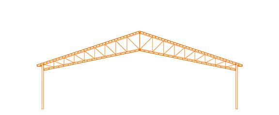 Structure d'acier Le Ciseau