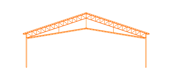 Structure d'acier Le Cathédrale plafond suspendu