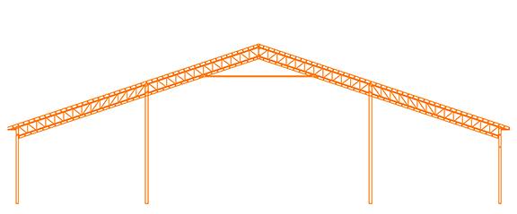 Structure d'acier Le Cathédrale